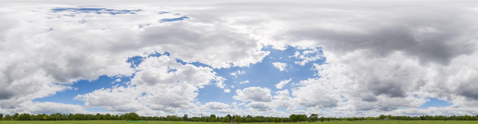 Cloudy Sky 7425 (30k) HDRI
