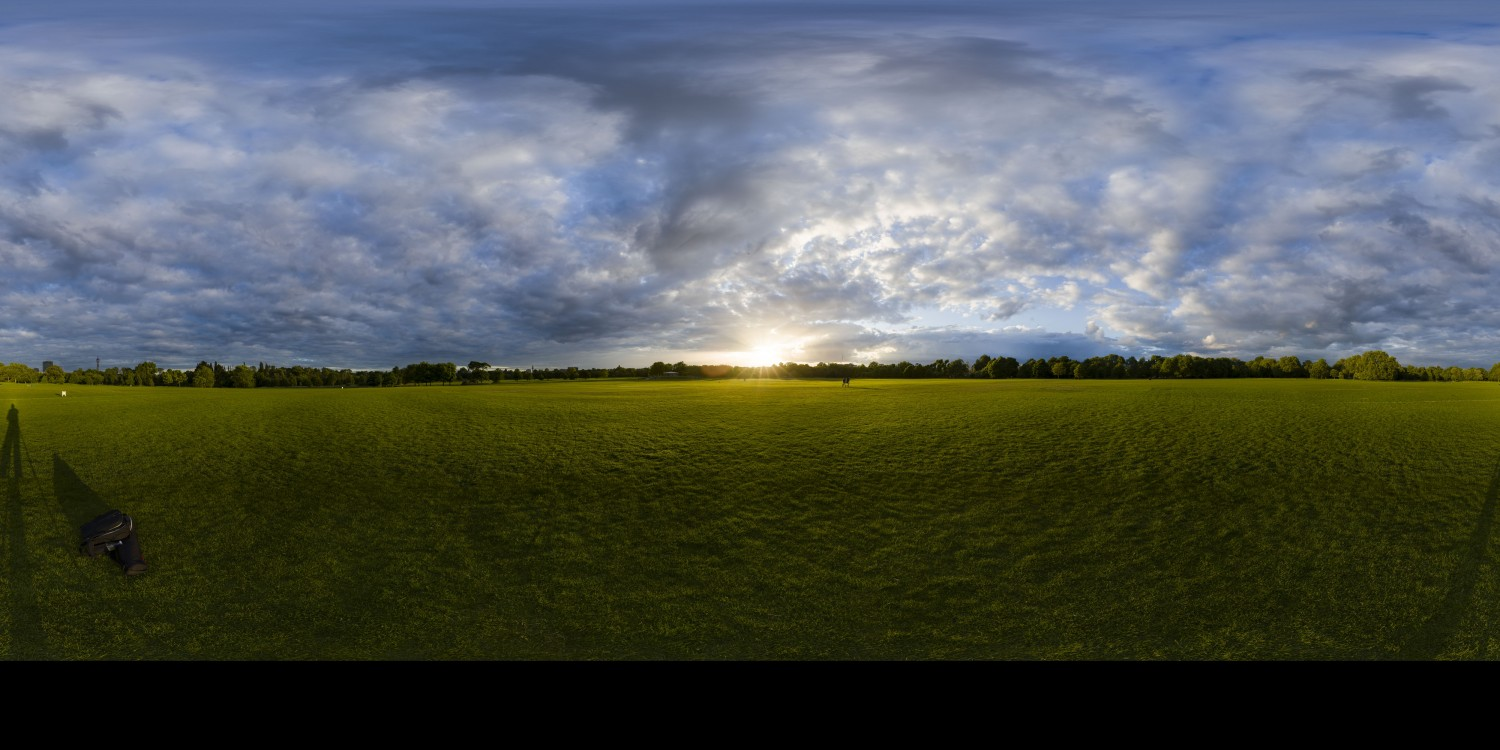 Cloudy Sunset 3 (30k) HDRI