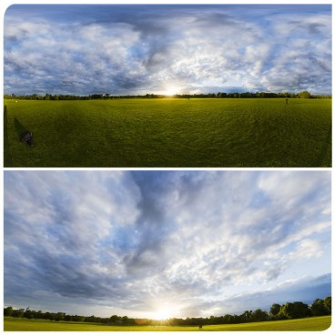 Cloudy Sunset 3 HDRI