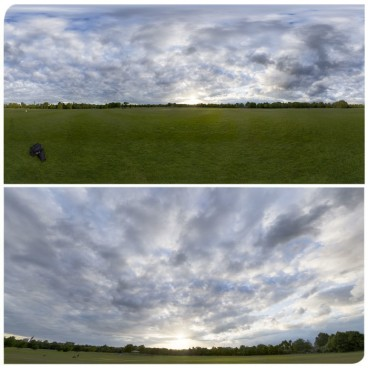 Cloudy Sunset 4 HDRI