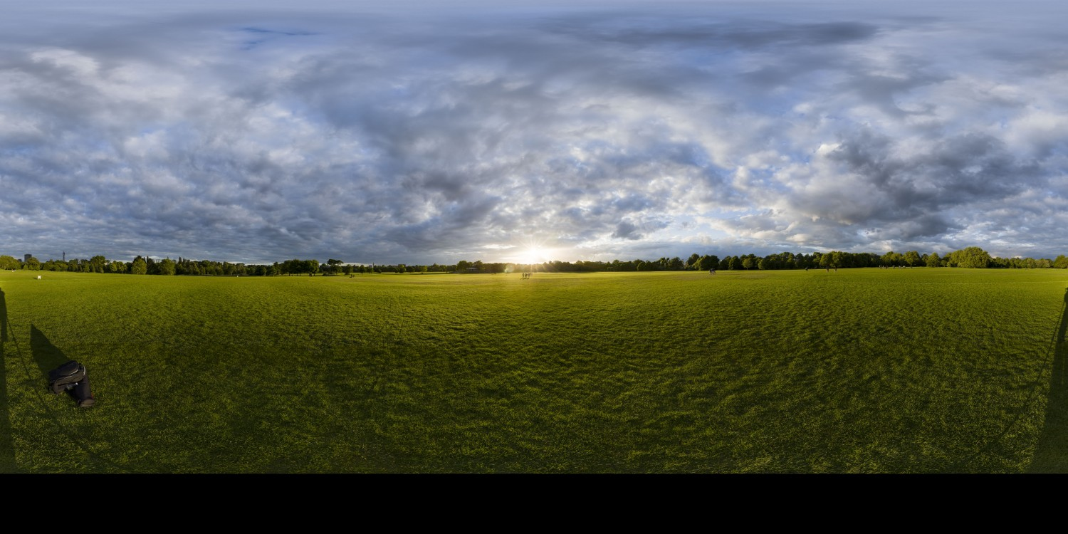 Cloudy Sunset 5 (30k) HDRI