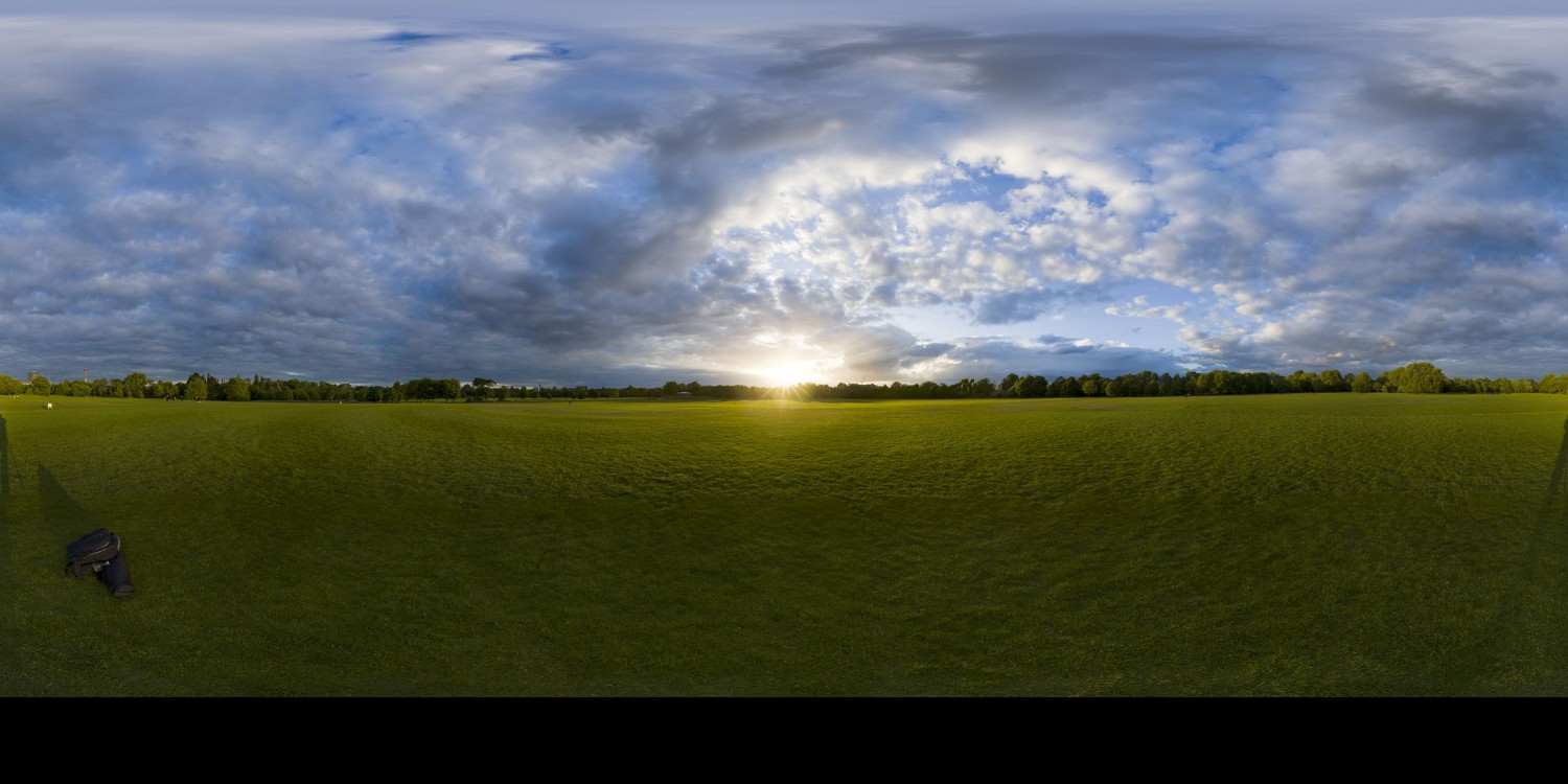 Cloudy Sunset 6 (30k) HDRI