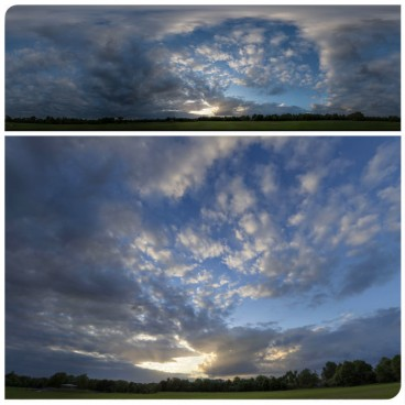 Cloudy Sunset 7