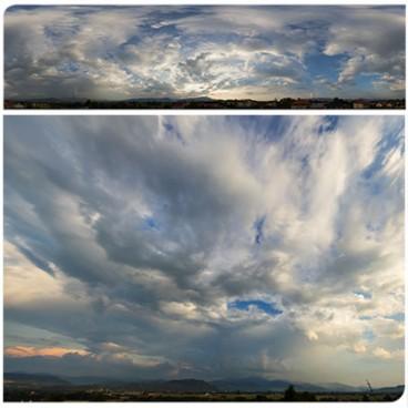 Cloudy Sunset 9817 (30k) HDRI Panoramas