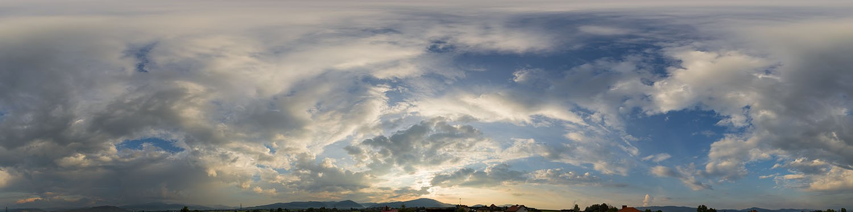 Cloudy Sunset 9817 (30k) HDRI