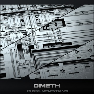 Dimeth - Displacement Maps Pack