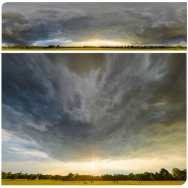 Dramatic Stormy Sunset 9016 (30k) HDRI Panoramas