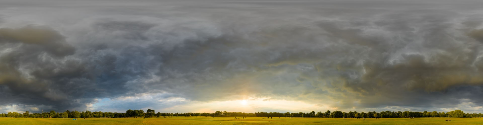 Dramatic Stormy Sunset 9016 (30k) HDRI