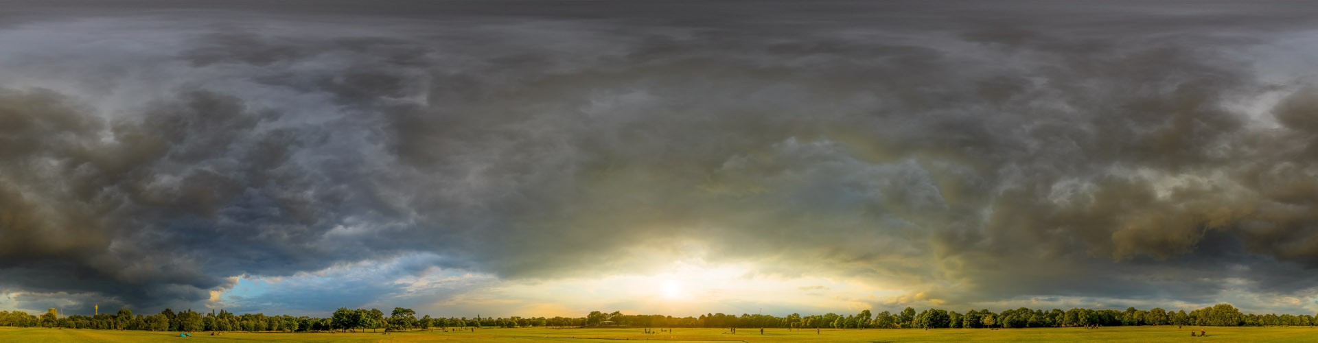 Dramatic Stormy Sunset 9142 (30k) HDRI