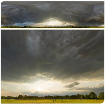 Dramatic Stormy Sunset 9352 (30k) HDRI Panoramas