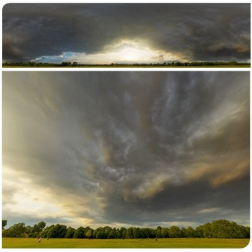 Dramatic Stormy Sunset 9436 (30k) HDRI Panoramas