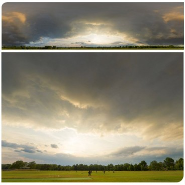Dramatic Stormy Sunset 9538 (30k) HDRI Panoramas