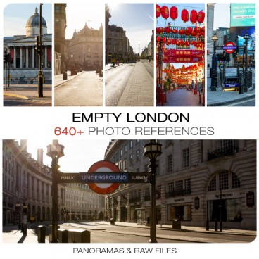 Empty London Photo Packs