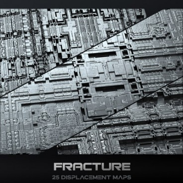 Fracture - Displacement Maps Pack