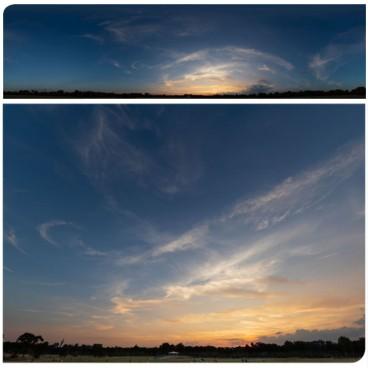 Golden Sunset 2990 (30k) Panoramas