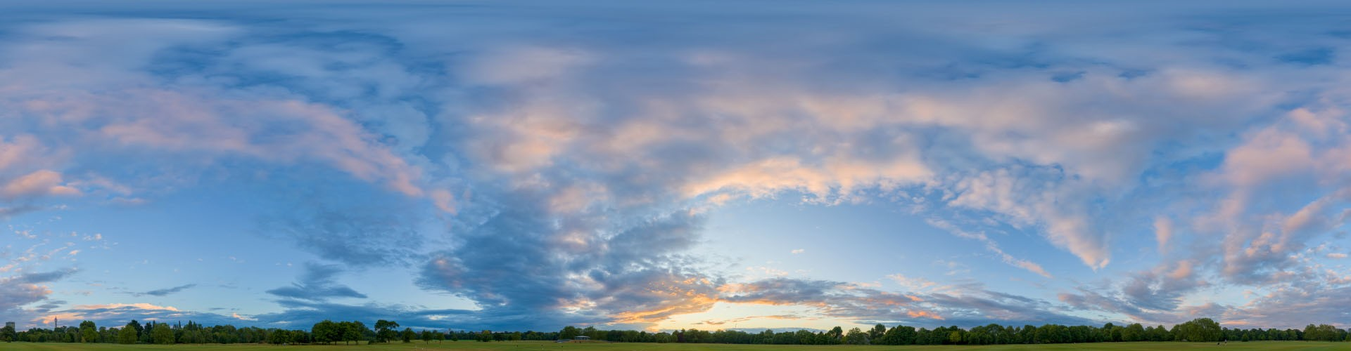 Golden Sunset 6381 (30k) HDRI