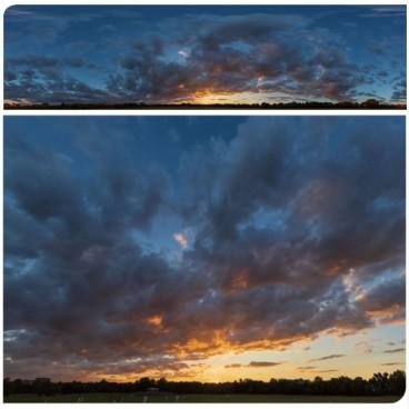 Golden Sunset 7304 (30k) Panoramas