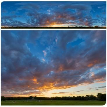 Golden Sunset 7331 (30k) HDRI
