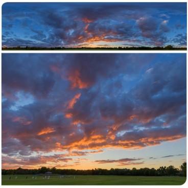 Golden Sunset 7529 (30k) HDRI