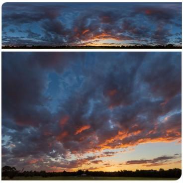 Golden Sunset 7601 (30k) Panoramas