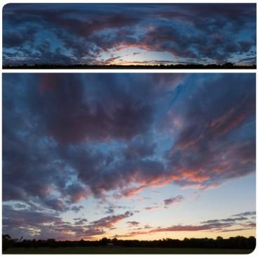 Golden Sunset 7684 (30k) Panoramas