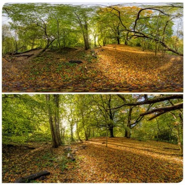 Hampstead Park 8552 (30k) HDRI Panoramas