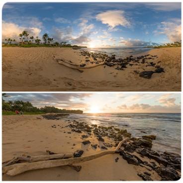 Hawaii Beach 0877 (30k) HDRI Panoramas