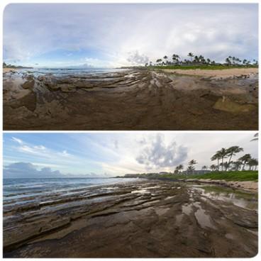 Hawaii Beach 5660 (56k)  Panoramas