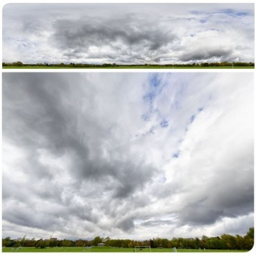 Heavy Clouds 6280 (30k) HDRI