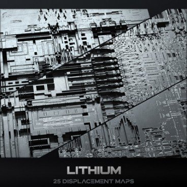 Lithium - Displacement Maps Pack