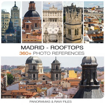Madrid Rooftops Photo Packs