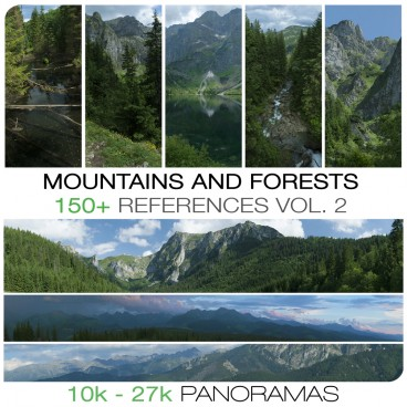 Mountains and forests references vol. 2