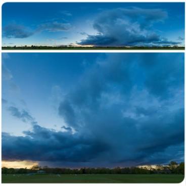 Rainy Blue Hour 8020 (30k) HDRI Panoramas