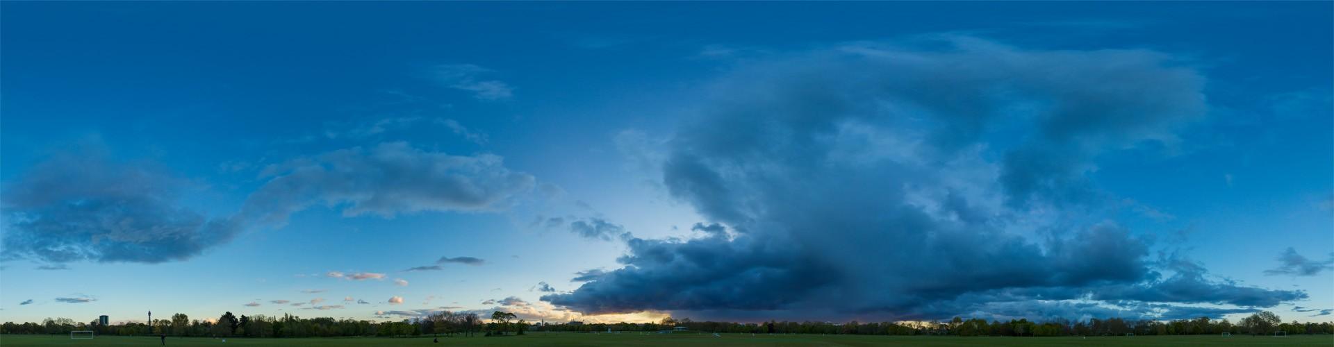 Rainy Blue Hour 8020 (30k) HDRI