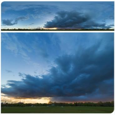Rainy Blue Hour 8086 (30k) HDRI Panoramas