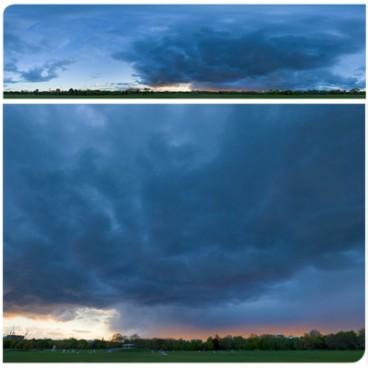 Rainy Blue Hour 8176 (30k) HDRI Panoramas
