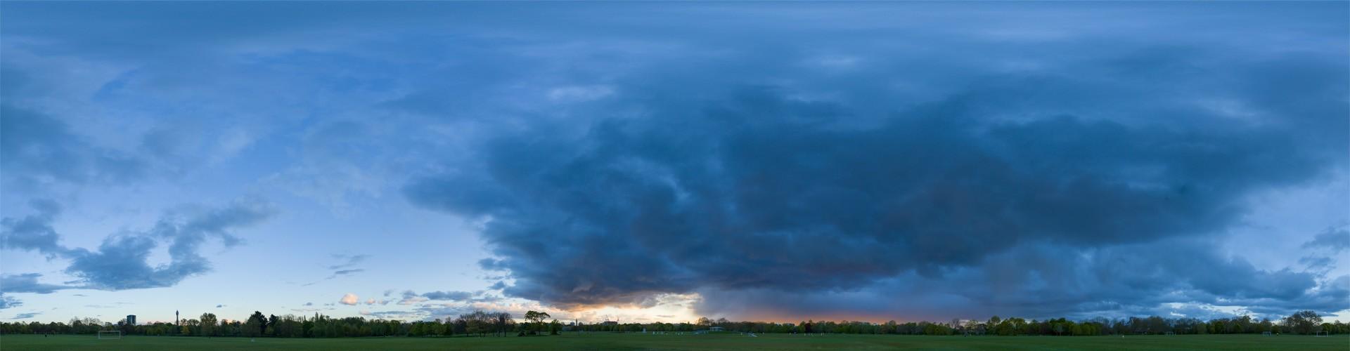 Rainy Blue Hour 8176 (30k) HDRI