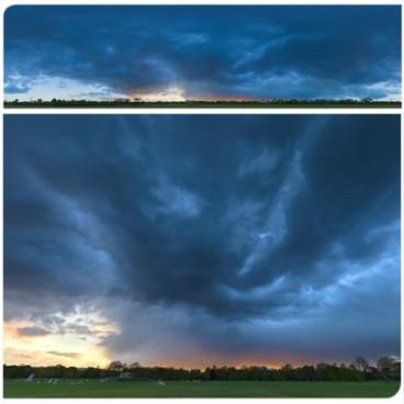 Rainy Blue Hour 8242 (30k) HDRI Panoramas