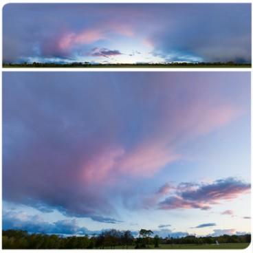 Rainy Blue Hour 8305 (30k) HDRI Panoramas