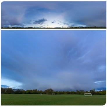 Rainy Blue Hour 8374 (30k) HDRI Panoramas