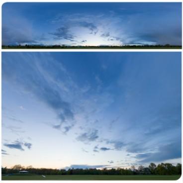 Rainy Blue Hour 8437 (30k) HDRI Panoramas