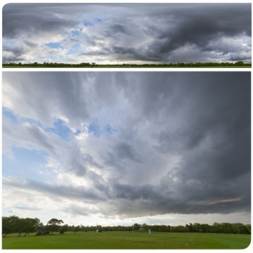 Rainy Clouds 2057 (30k) HDRI Panoramas
