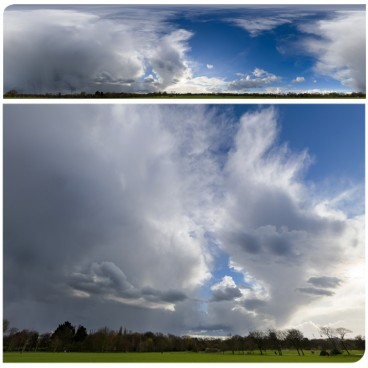 Rainy Clouds 2188 (30k) HDRI Panoramas