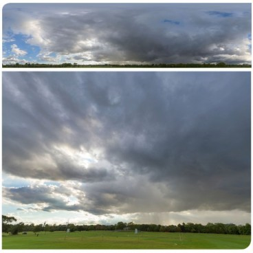 Rainy Clouds 2222 (58k)  Panoramas