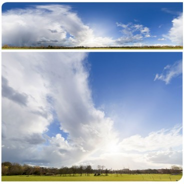 Rainy Clouds 2296 (30k) HDRI Panoramas