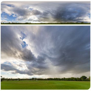 Rainy Clouds 2333 (30k) HDRI Panoramas