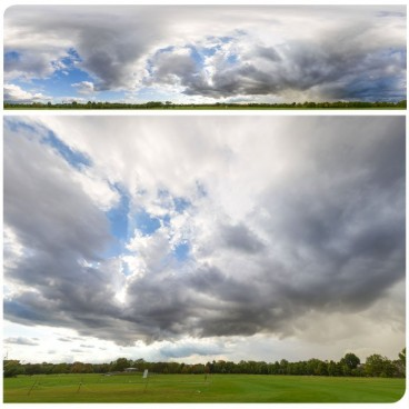 Rainy Clouds 2478 (30k) HDRI Panoramas