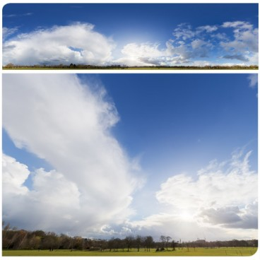 Rainy Clouds 2581 (30k) HDRI Panoramas