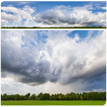 Rainy Clouds 2638 (30k) HDRI Panoramas
