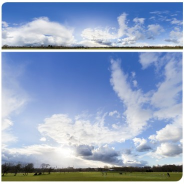 Rainy Clouds 2705 (30k) HDRI Panoramas